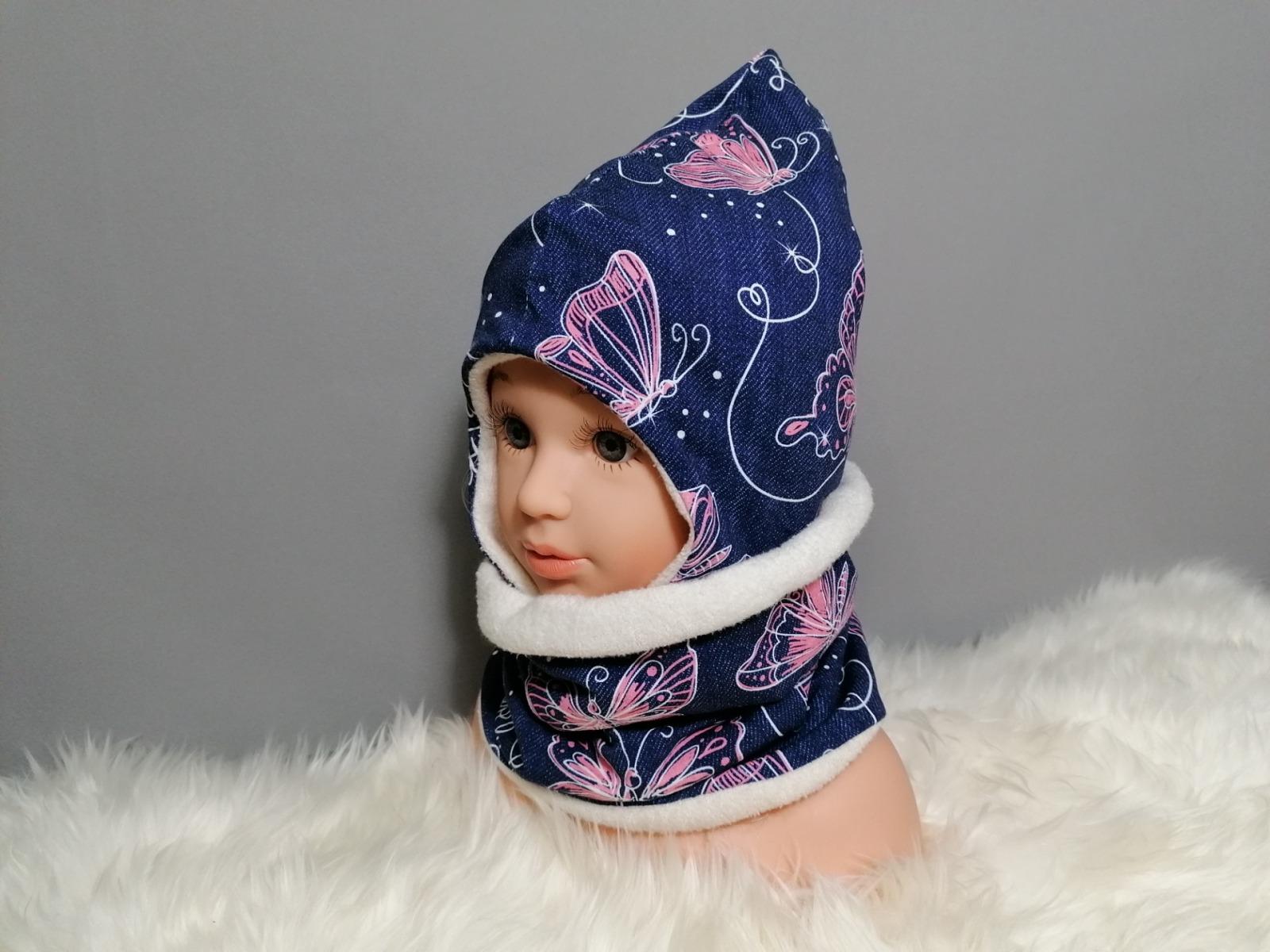 Ohrenmütze Zipfelmütze für Babys und Kinder