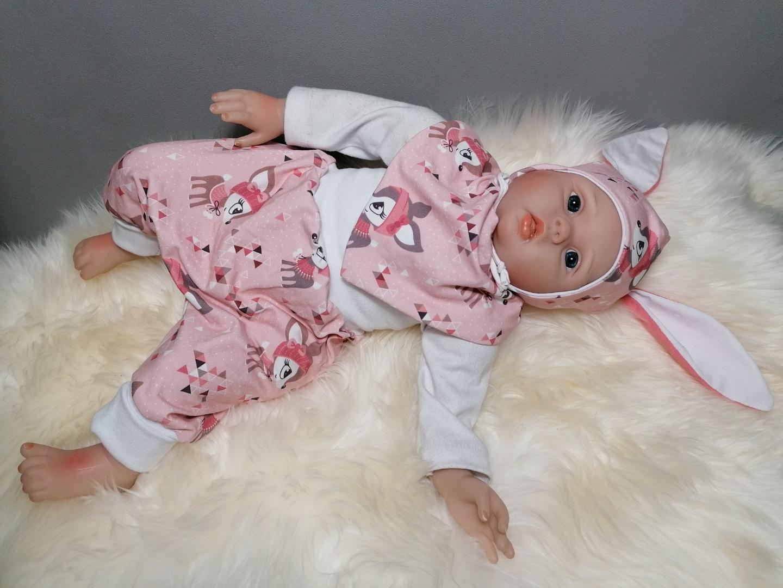 Baby Kind Pumphose Mitwachshose Hafenkitze hellblau