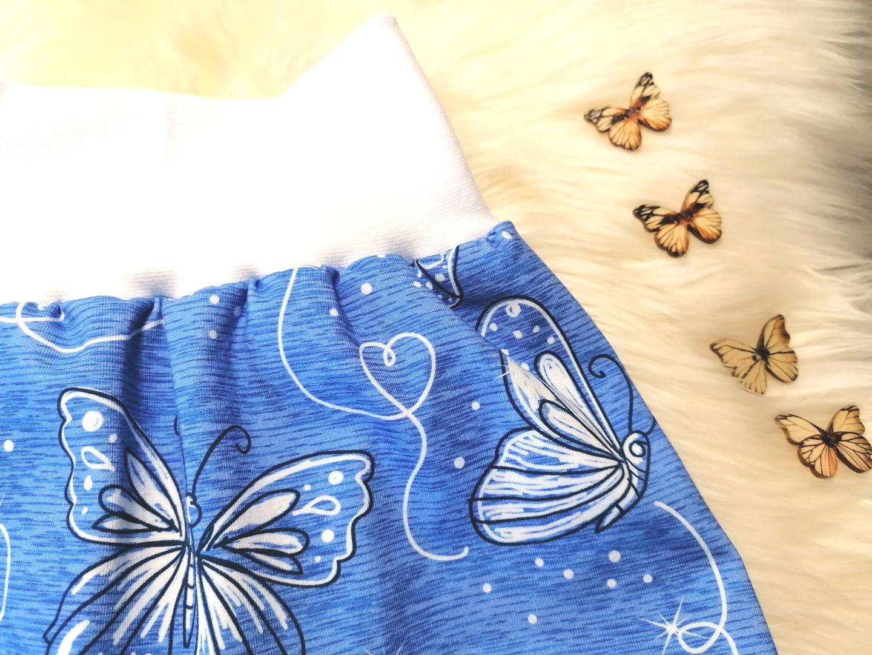 Baby Kind kurze Pumphose Schmetterlinge Be