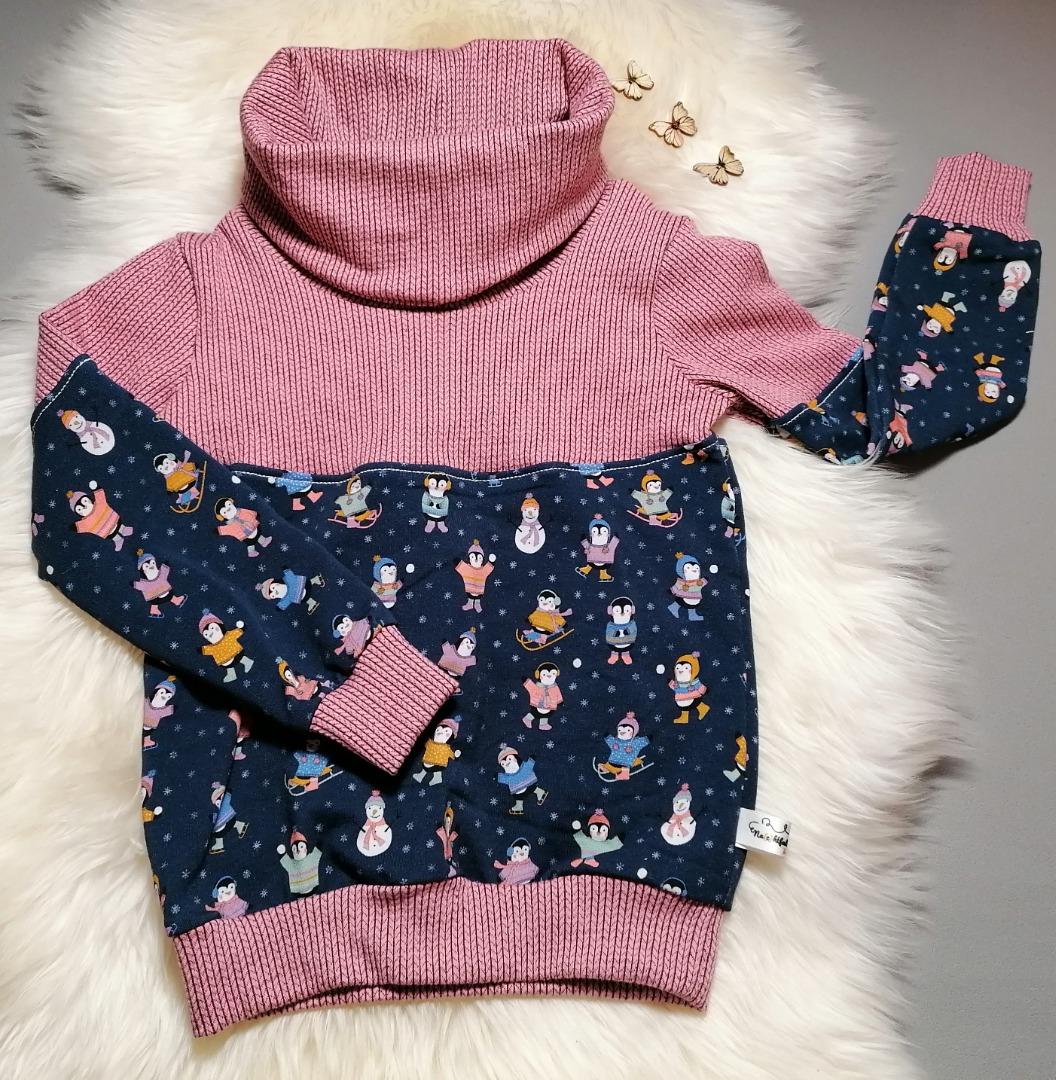 Baby Kind Hoodie Pullover mit Kragen