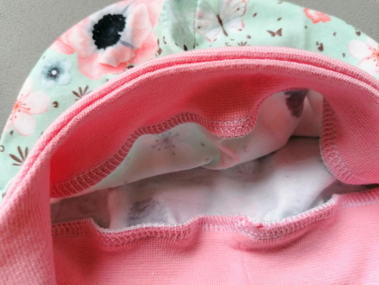 Baby Kind Mütze kopfnah geschnitten mit