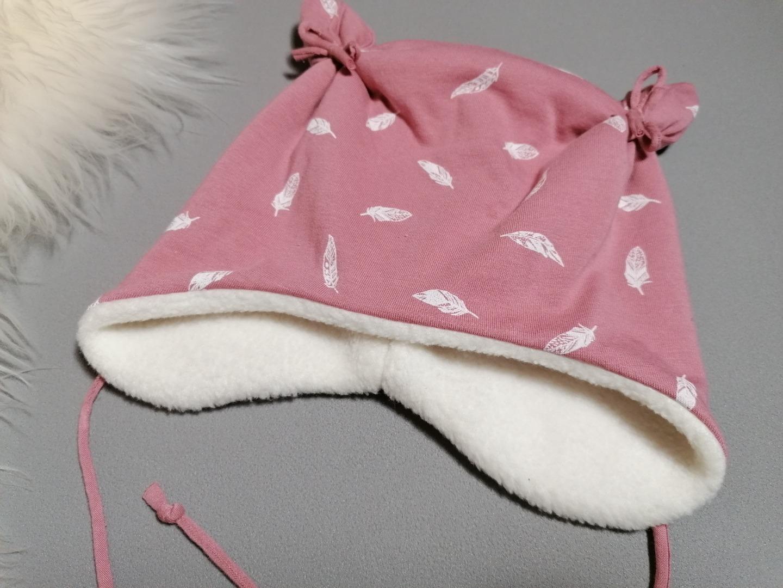 Mütze mit Öhrchen für Babys und