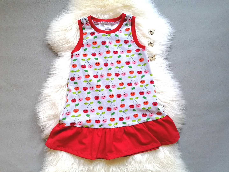 Baby Kind Langarm- oder Kurzarmkleid mit