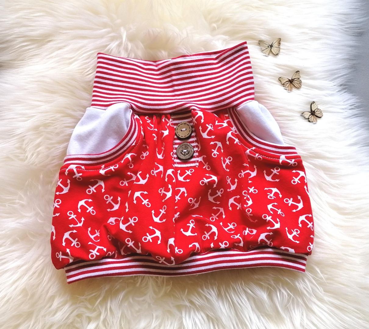 Baby Kind Pumprock Ballonrock mit Taschen