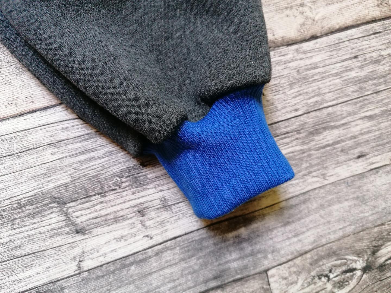 Sweathose mit Softshell-Belegen und Tasche Haie