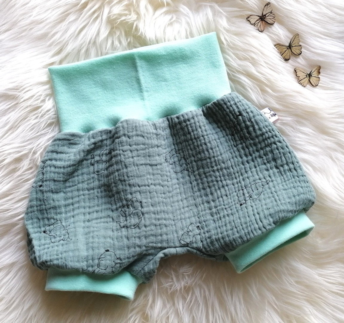 Baby Kind kurze Musselin Pumphose Shorts