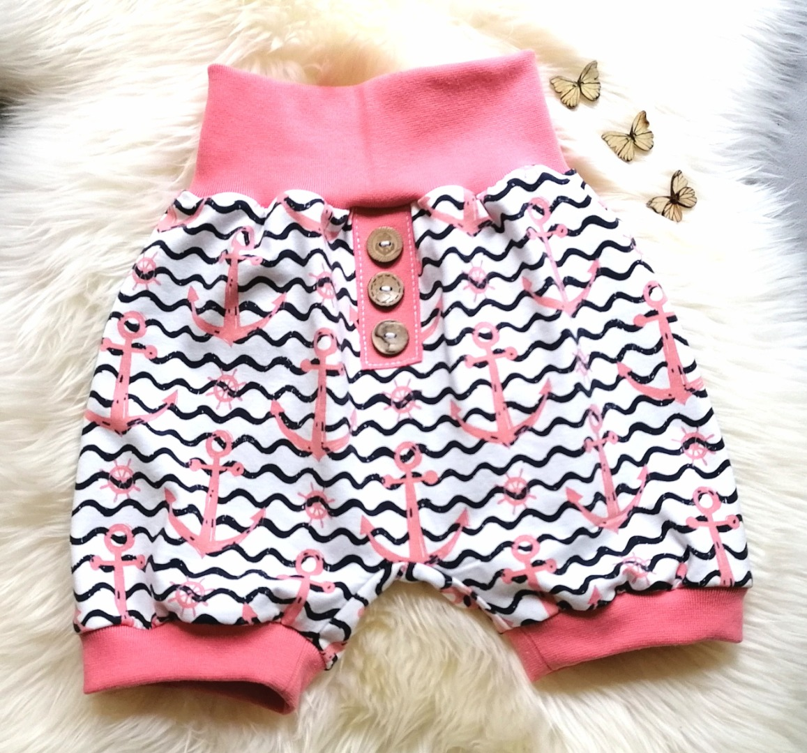 Baby Kind Kurze Pumphose Shorts Anker