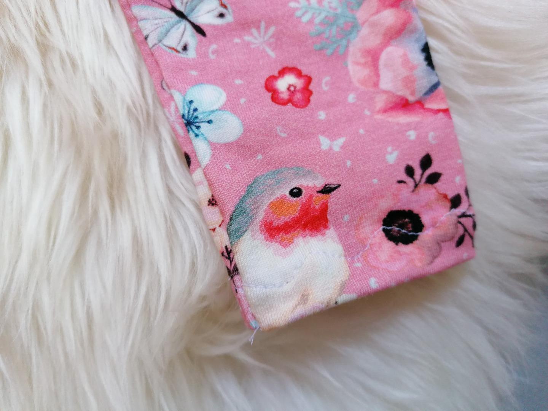 Babyset 4-teilig Paperback Hose Halstuch Stirnband