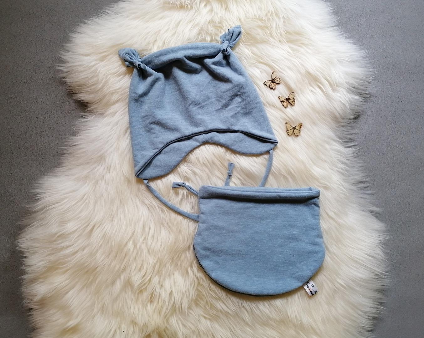 Babyset Kinderset 2-teilig Halssocke oder Loop