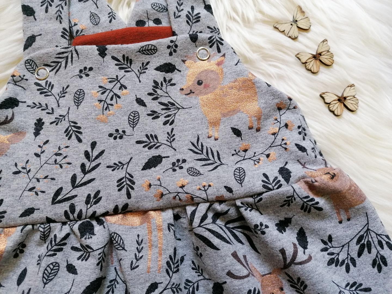Baby Kind Latzrock für Mädchen mit