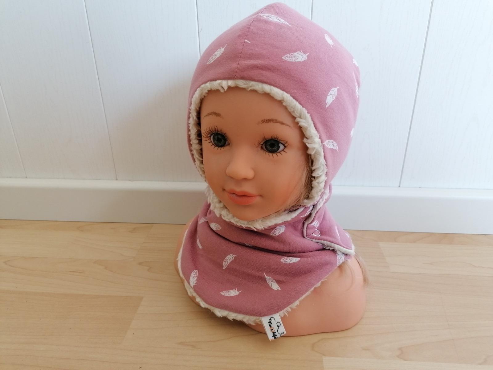 Baby Kind Set Mütze zum Binden