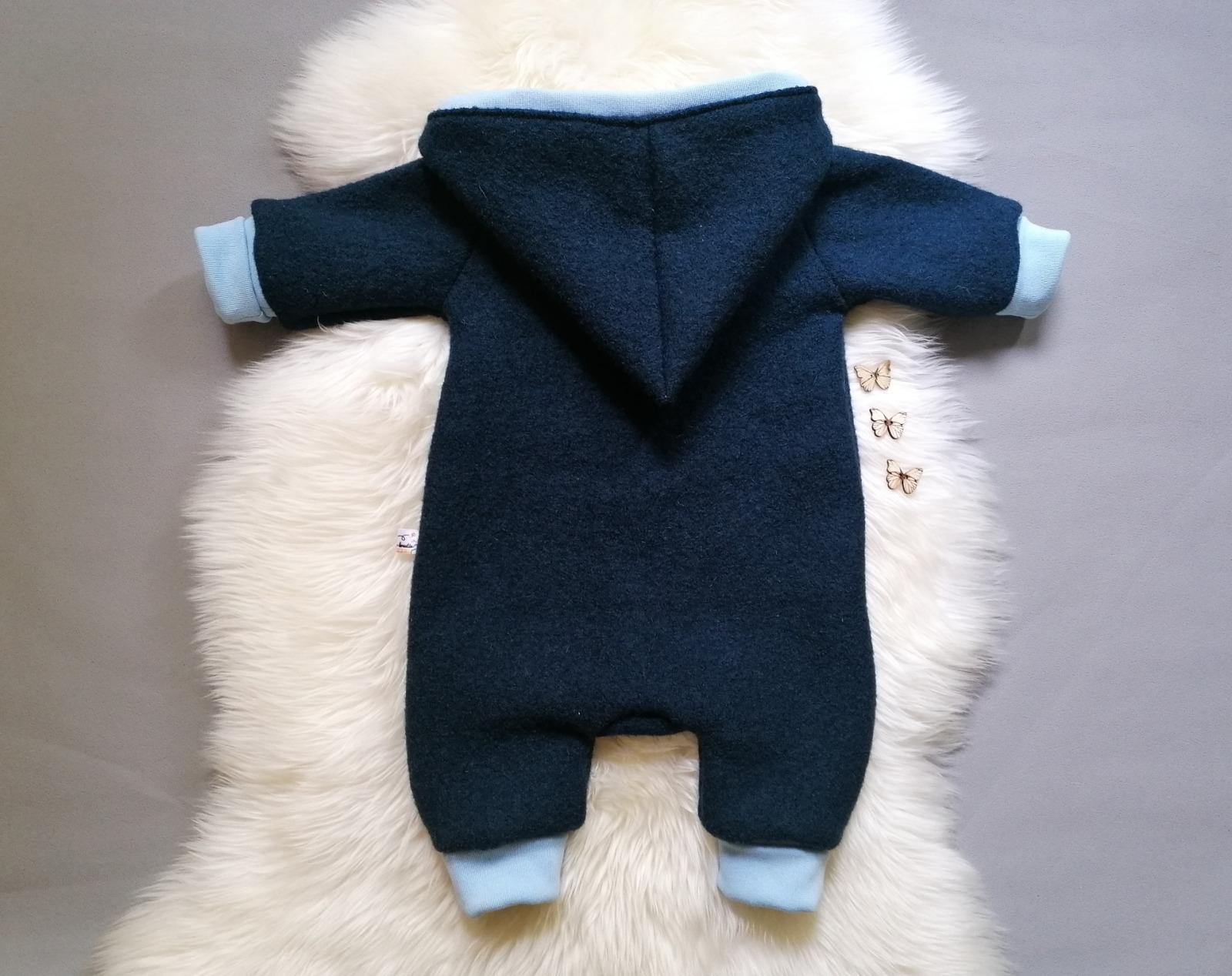 Walkoverall mit Reißverschluss für Babys und
