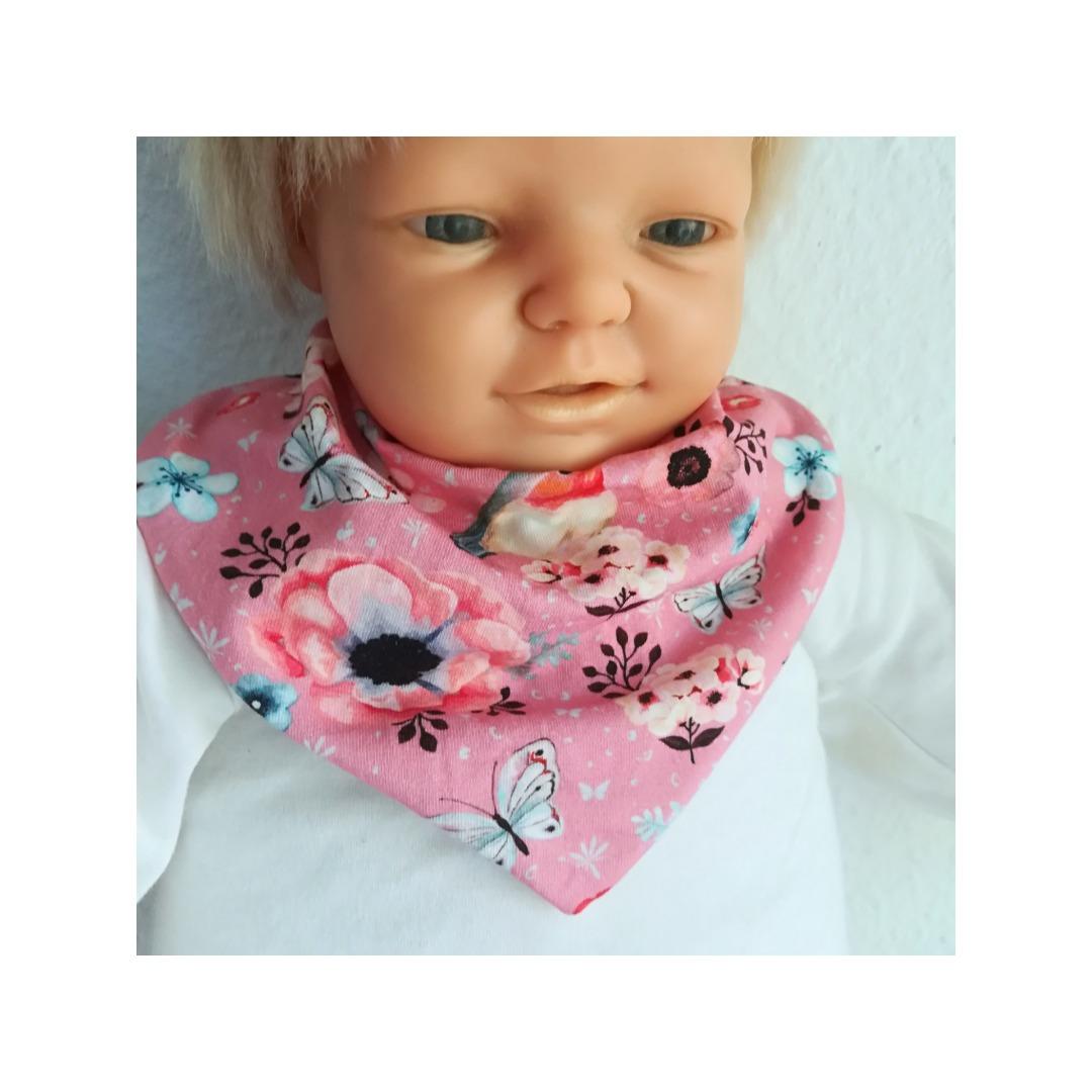 Babyset Erstlingsset 3-teilig Strampelsack Halstuch Babymütze