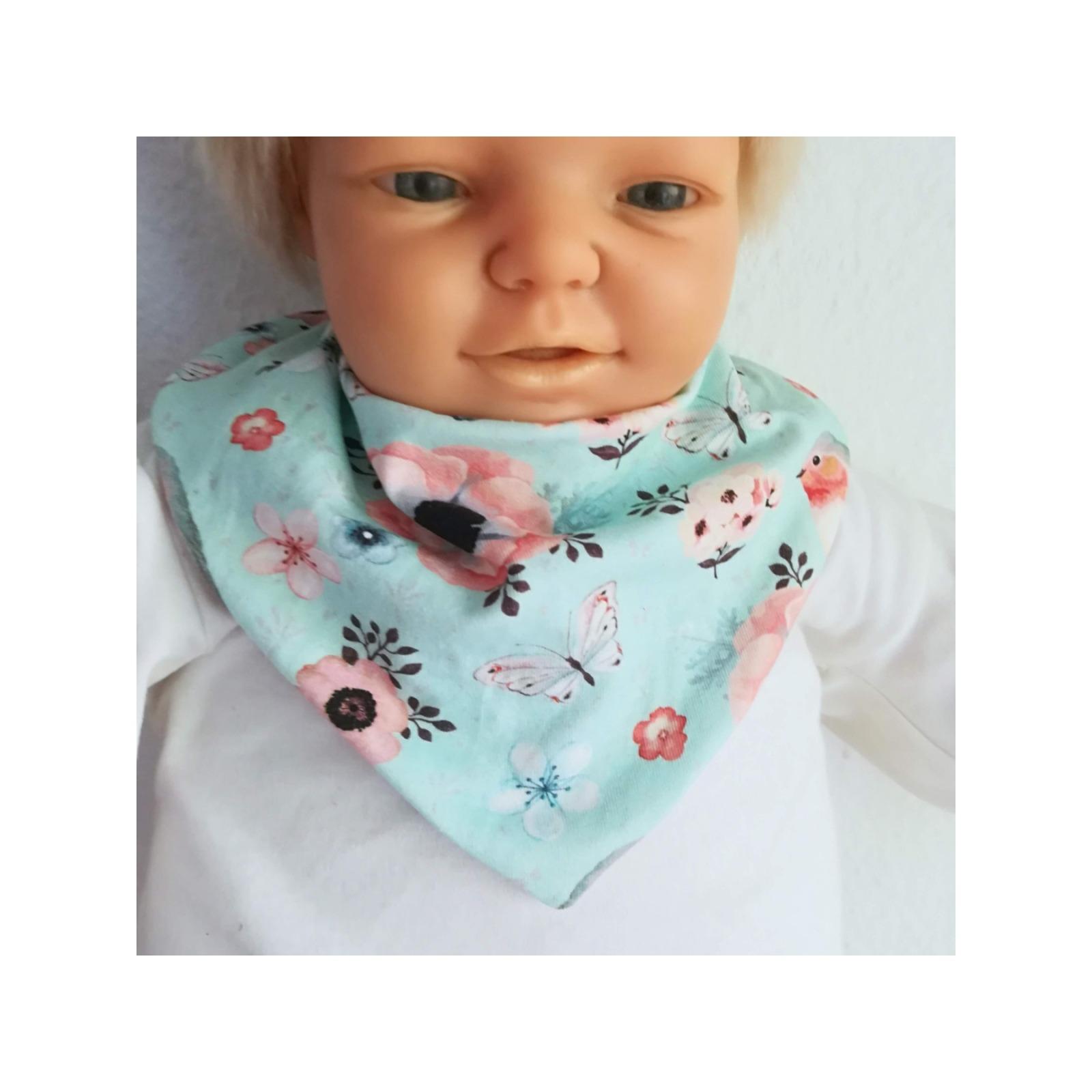 Baby Kind Halstuch mit Wasserfalleffekt auch
