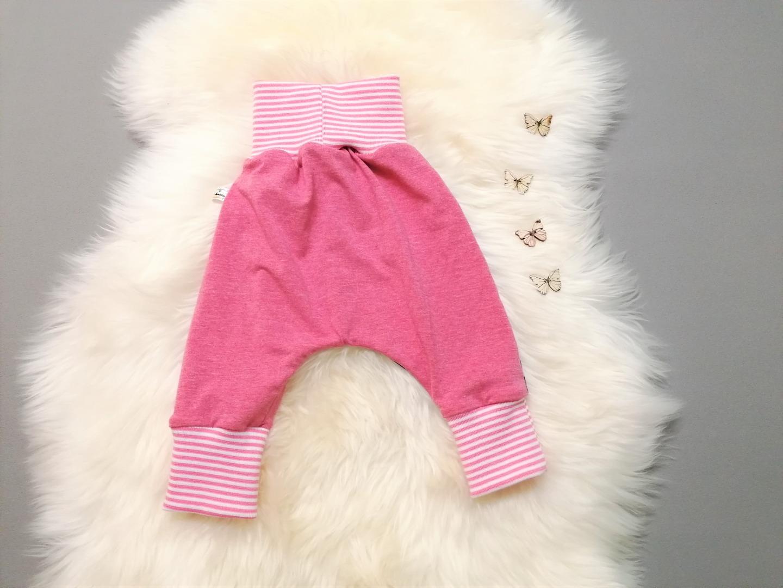 Babyset 3-teilig Pumphose Beanie Halstuch Größe