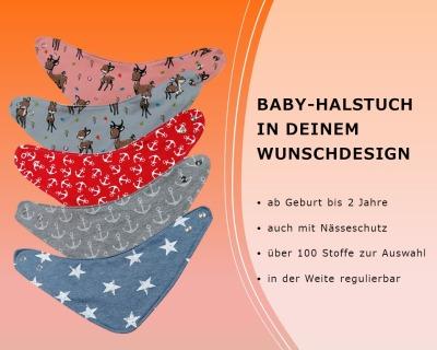 Halstuch für Babys und Kinder auch