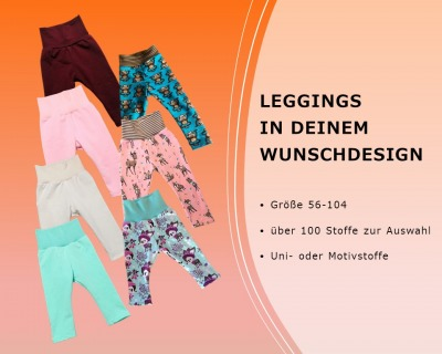 Baby Kind Leggings in Längen im