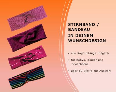Stirnband Bandeau Haarband für Babys Kinder
