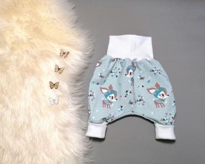 Baby Kind Pumphose Winterkitze hellblau in