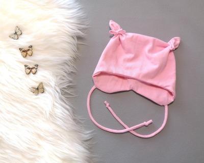 Mütze mit Öhrchen in Wunschgröße Babymütze