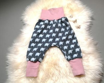 Baby Kind Pumphose in Wunschgröße 50/56