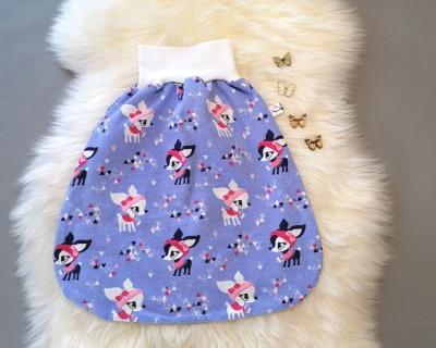 Baby Pucksack Strampelsack Schlafsack einlagig oder