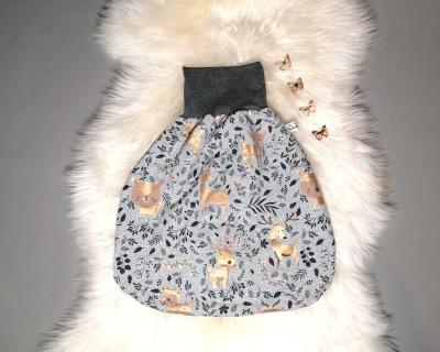 Strampelsack Babyschlafsack Pucksack einlagig oder gefüttert