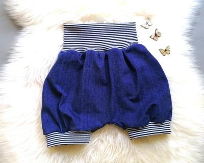 Baby Kind kurze Pumphose aus Jersey