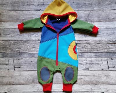 Baby Kind Softshell-Overall in Wunschgröße bis