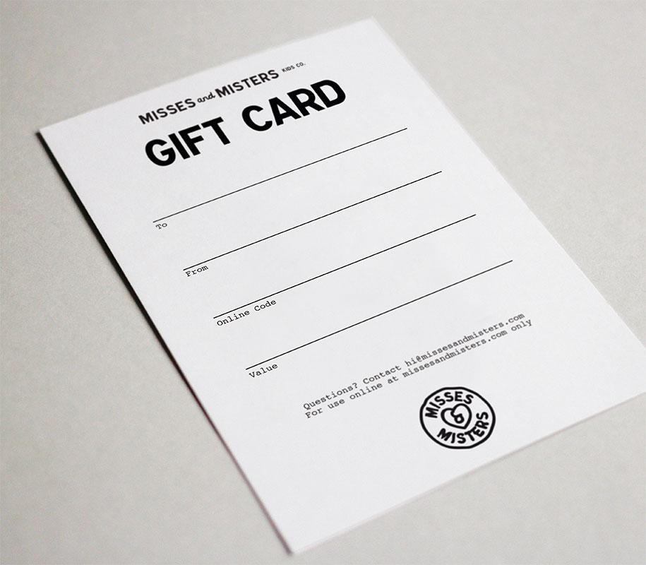 Geschenkgutschein No 1 100 St