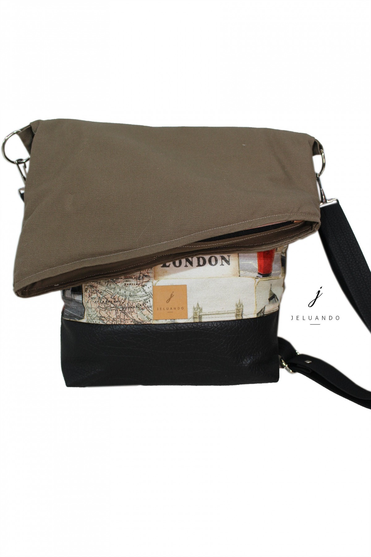 vegane FoldOver Tasche London