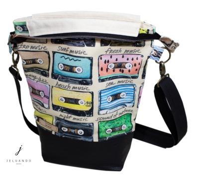 vegane Retrotasche - Handtasche Jelu