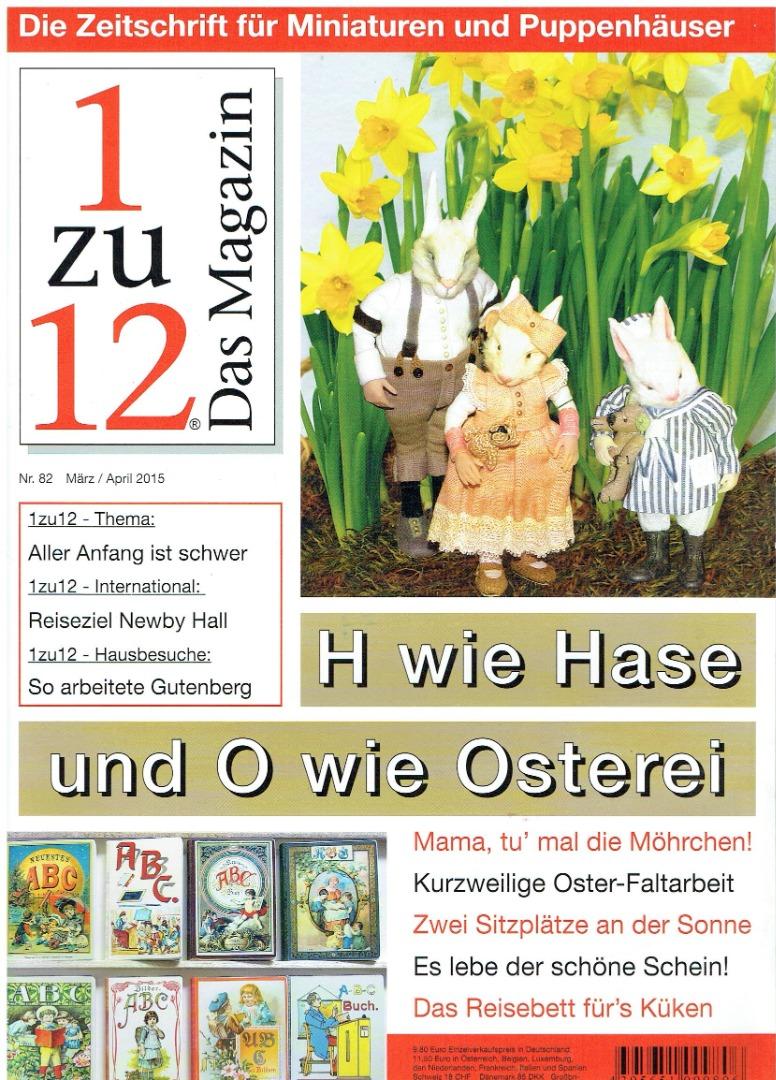 Nr 82- 1zu12 Das Magazin März
