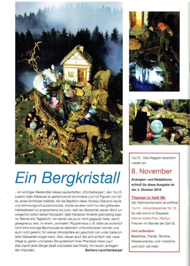 Nr 98- 1zu12 Das Magazin August