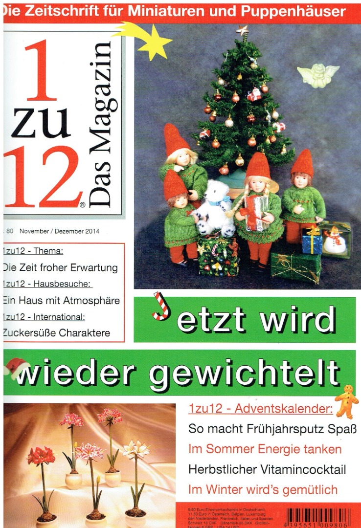 Nr 80- 1zu12 Das Magazin November