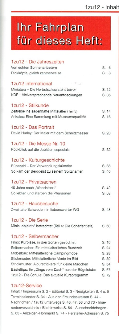 Nr 91- 1zu12 Das Magazin Nov