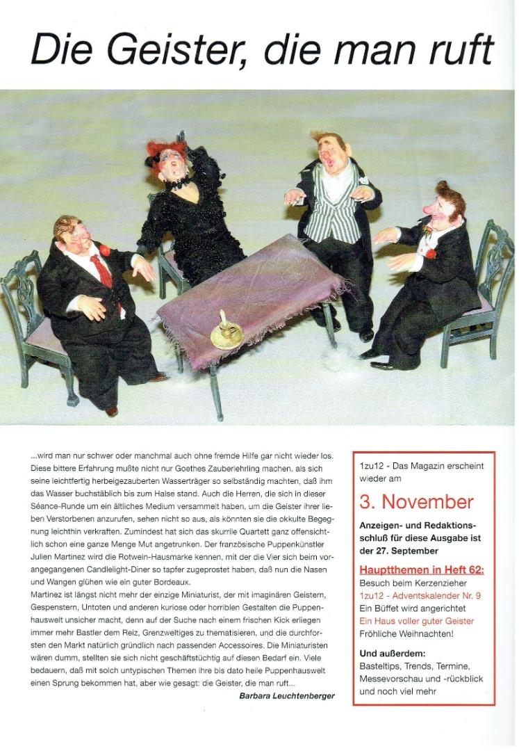 Nr 61- 1zu12 Das Magazin September