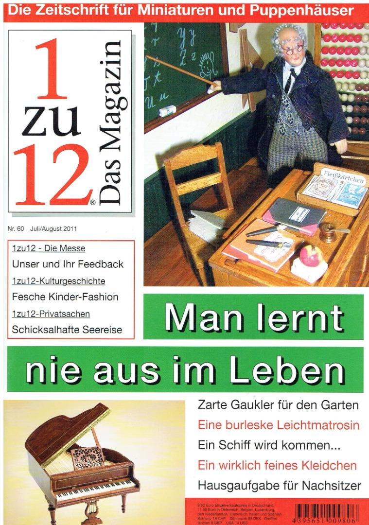 Nr 60- 1zu12 Das Magazin Juli