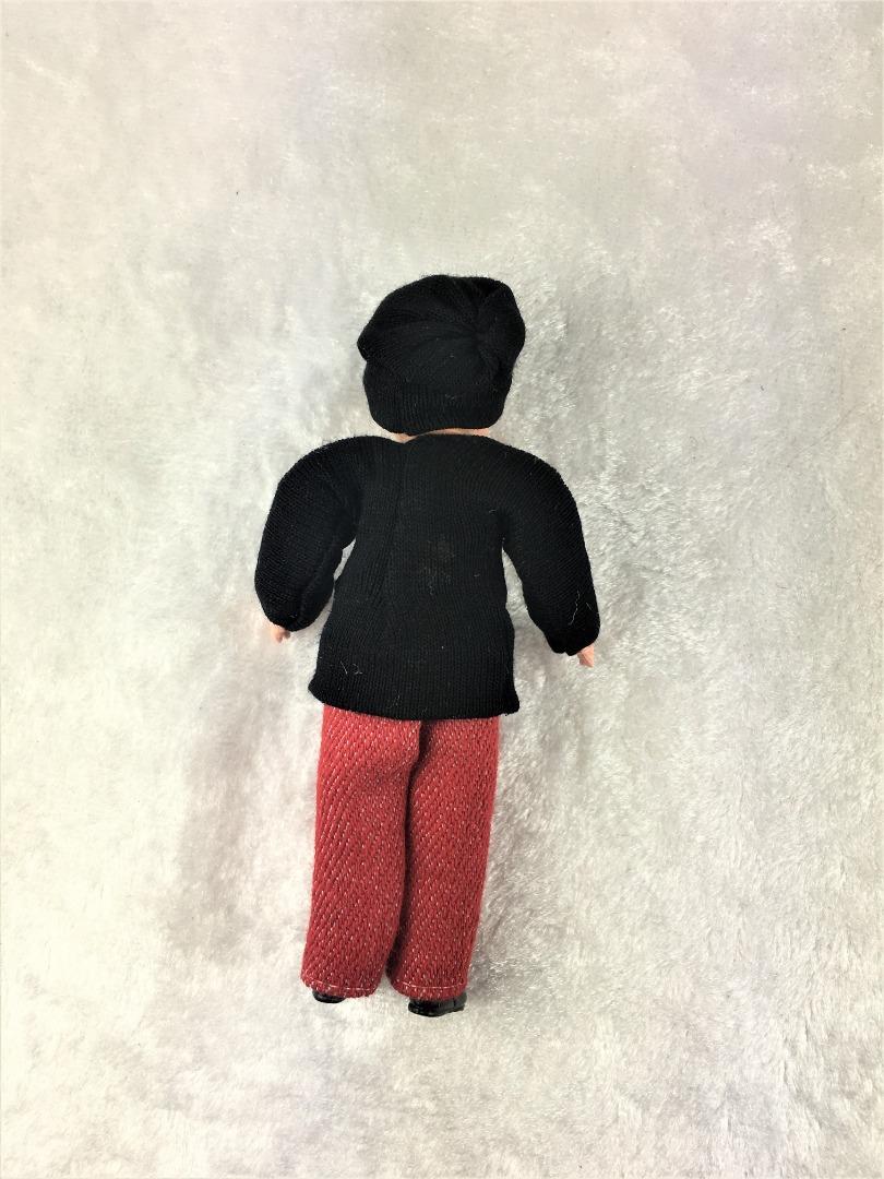 Junge 8 cm Caco Puppenstuben Biegepüppchen
