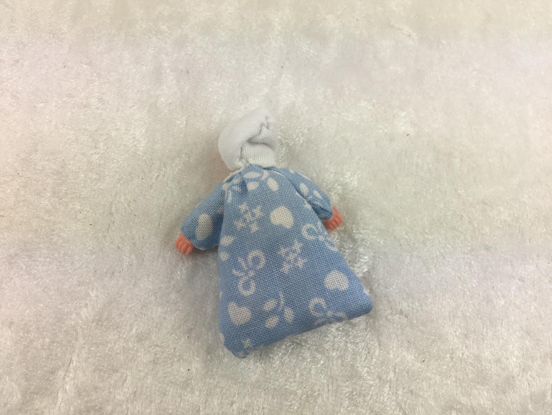 Baby im Schlafsack 45 cm 2