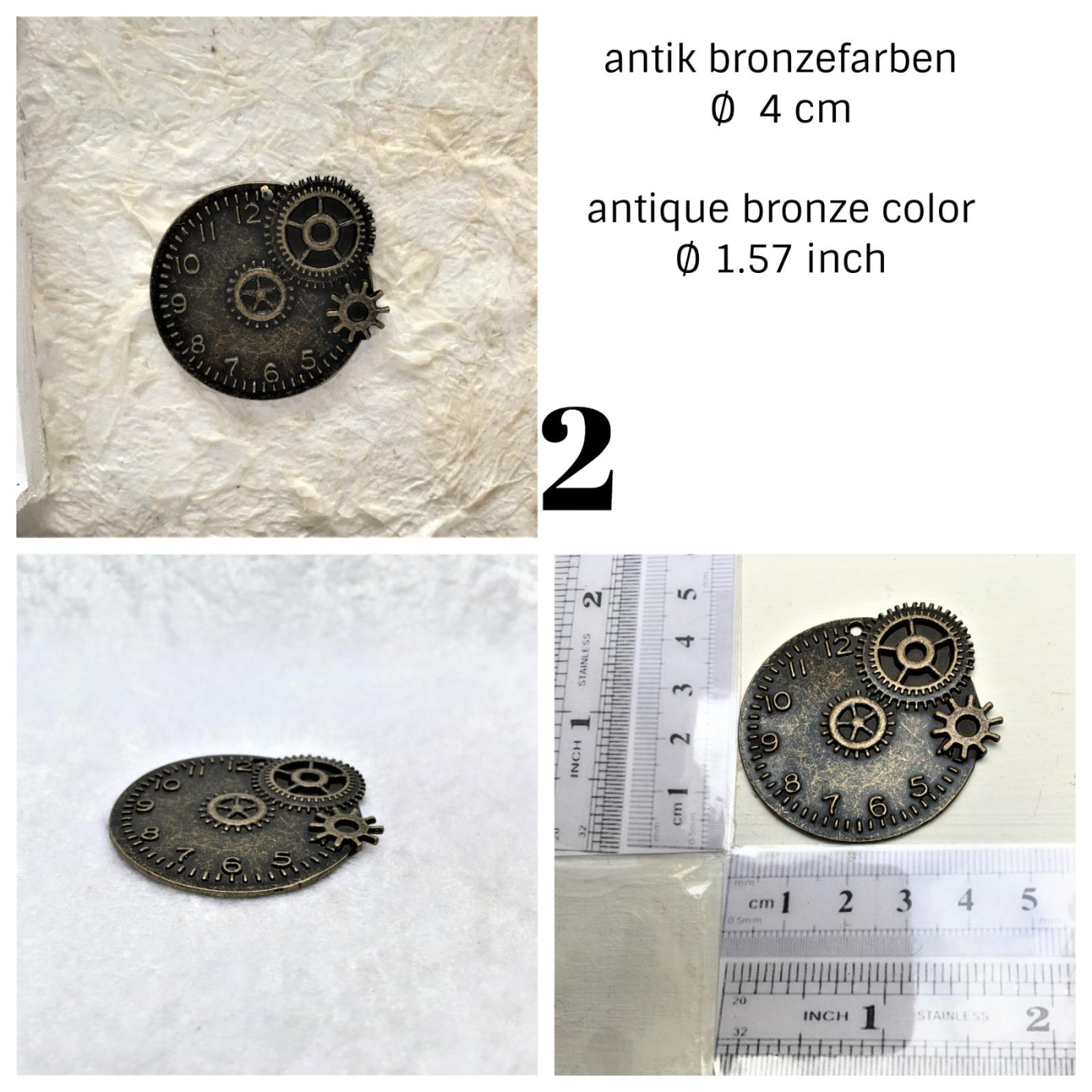 Uhren antik Bronzefarben 2