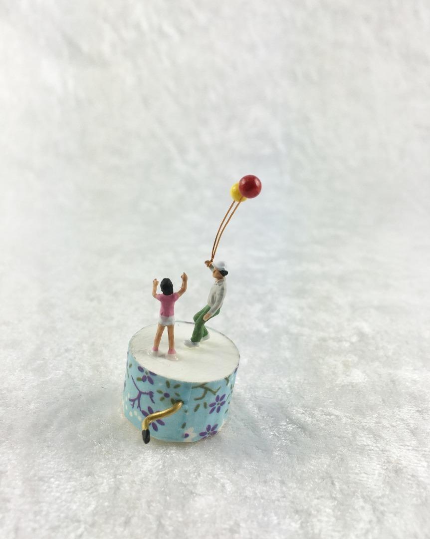 Spieluhr Motiv Luftballon