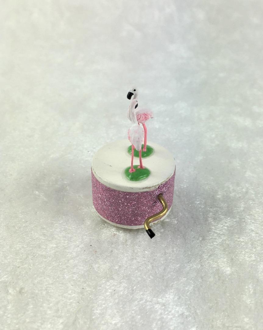 Spieluhr Motiv Flamingo