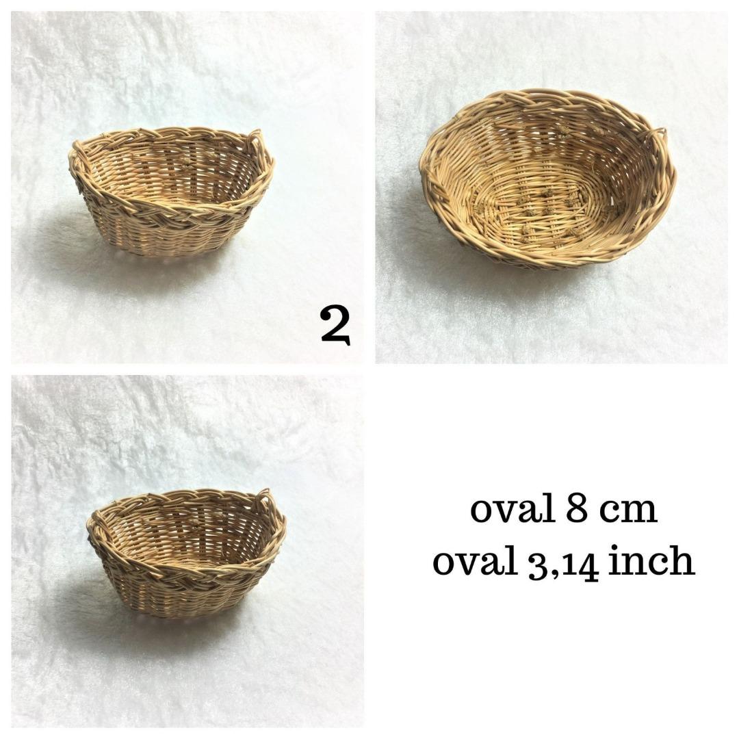 Waschkorb hell oval cm Deko für