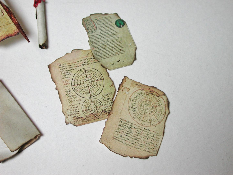 Schrift Set für die Hexe dem