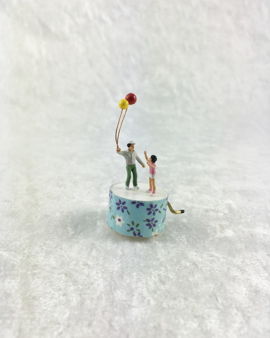 Spieluhr Motiv Luftballon 4