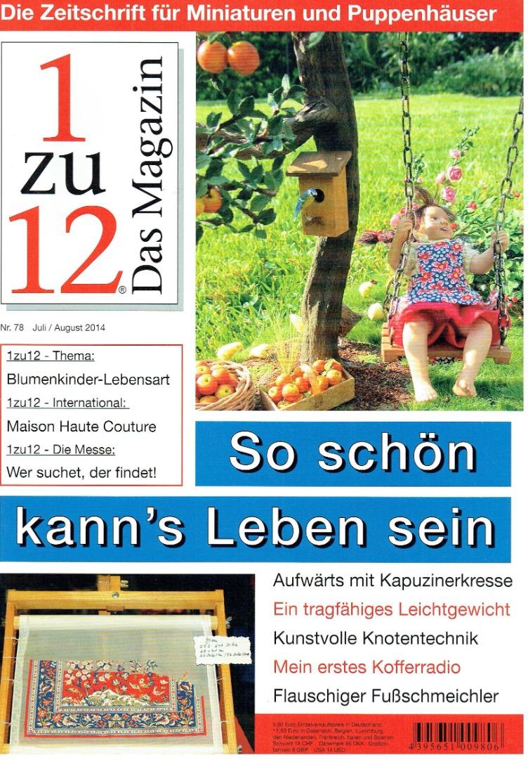 Nr 78- 1zu12 Das Magazin Juli