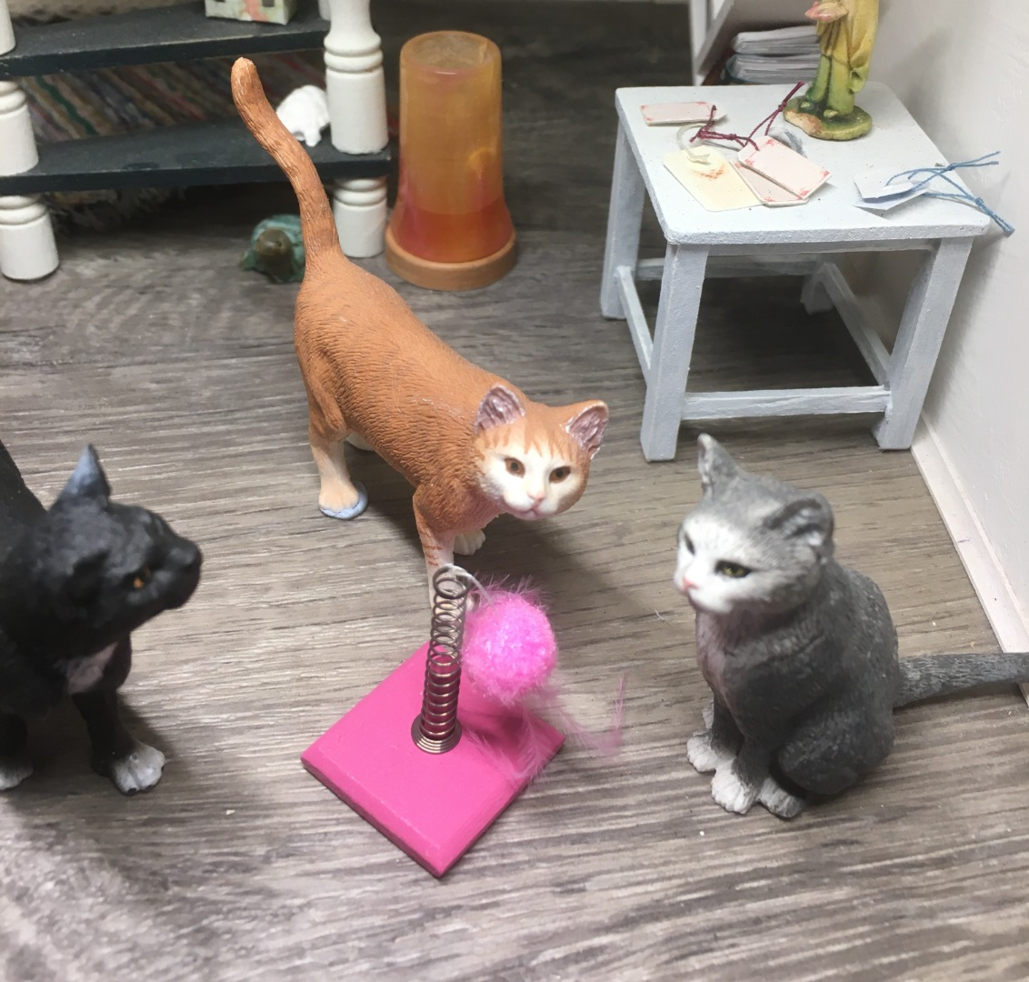Spielzeug für die Katze
