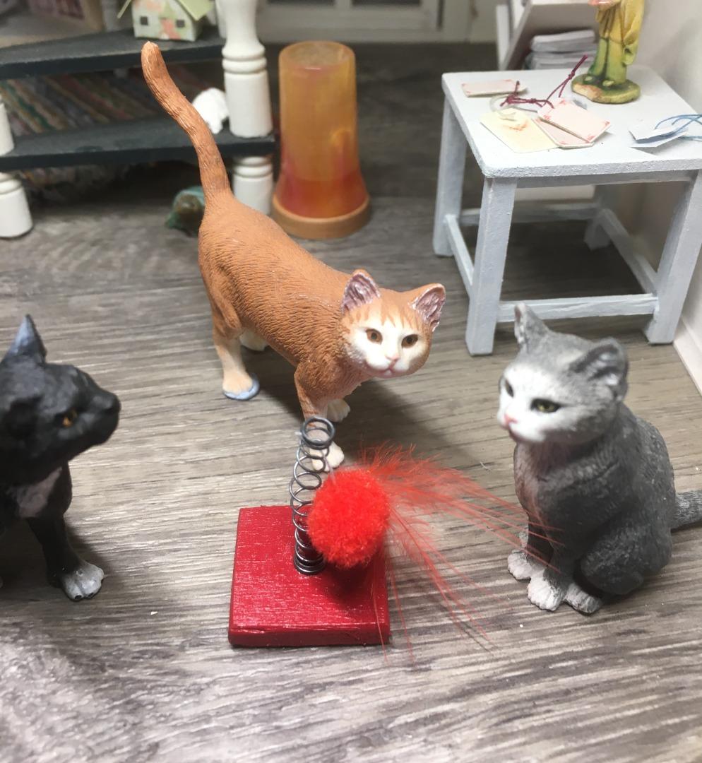 Spielzeug für die Katze 2