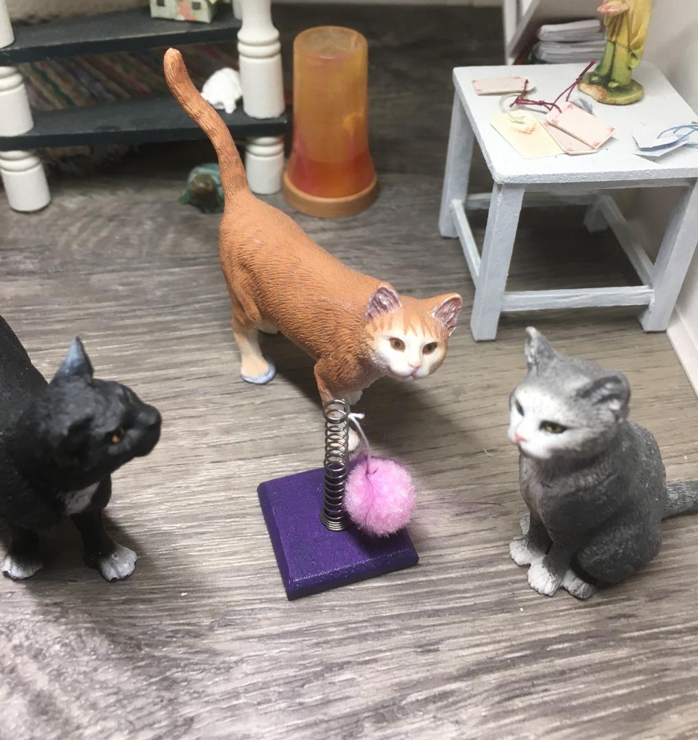 Spielzeug für die Katze 3